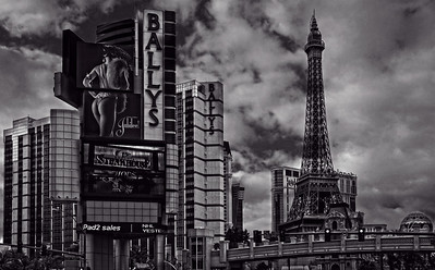 Bally's Casino - Eiffel Tower in Las Vegas, Nevada
